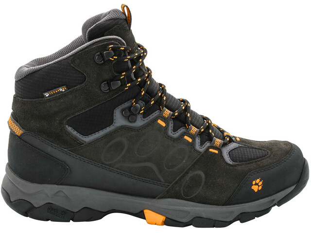 f4fca126c89 Jack Wolfskin MTN Attack 5 Texapore Hiking Shoes Mid Cut Men burly yellow